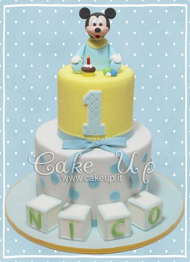 1000+ Ideas About Baby Mickey Cake On Pinterest