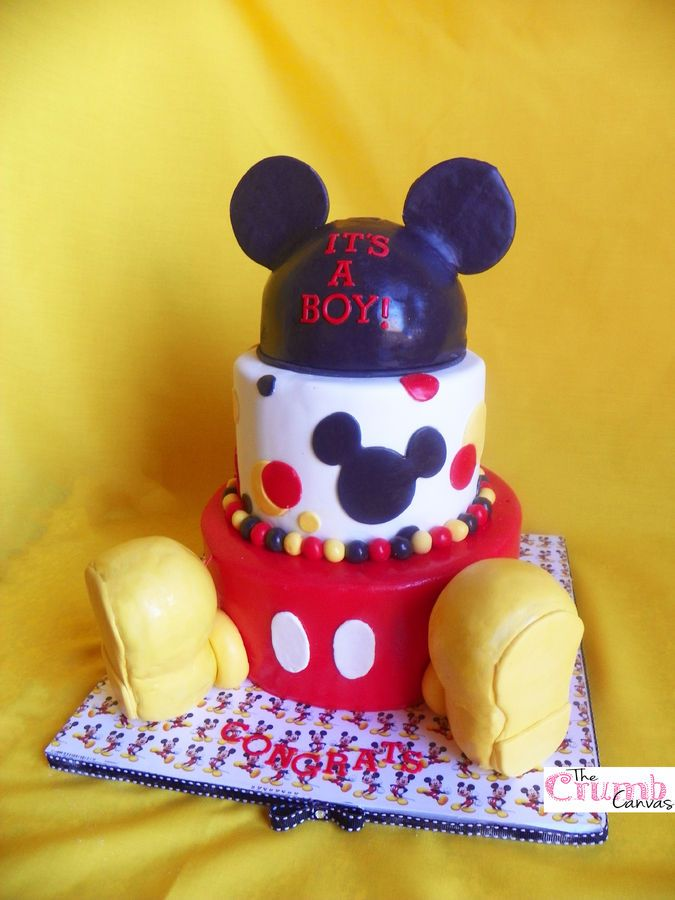 1000+ Ideas About Mickey Mouse Baby Shower On Pinterest