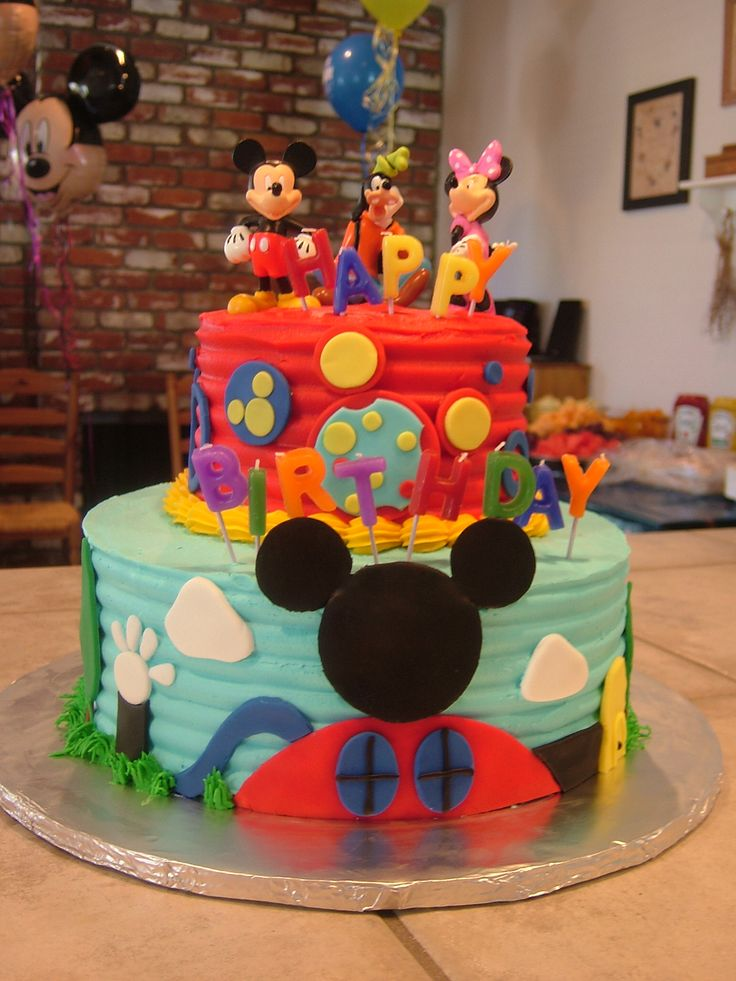 1000+ Ideas About Mickey Mouse Cake On Pinterest