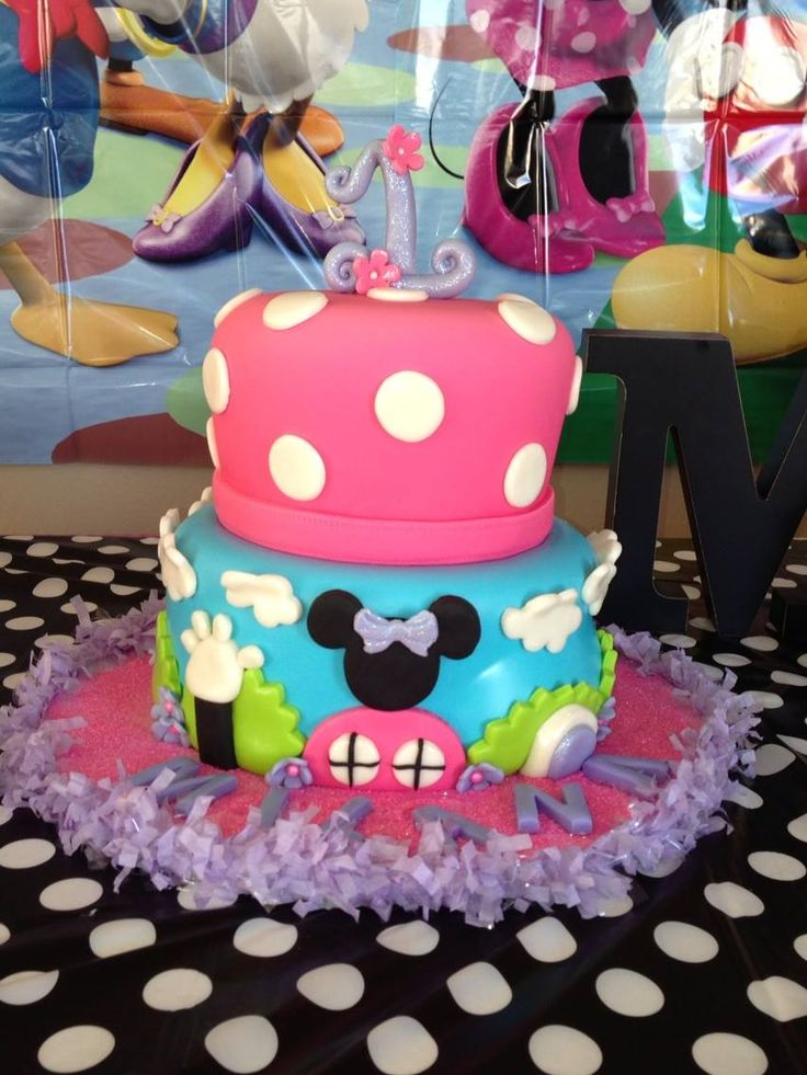 1000+ Ideas About Mickey Mouse Clubhouse Cake On Pinterest