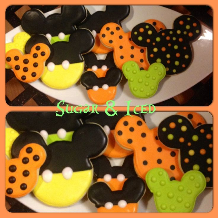 1000+ Ideas About Mickey Mouse Cookies On Pinterest