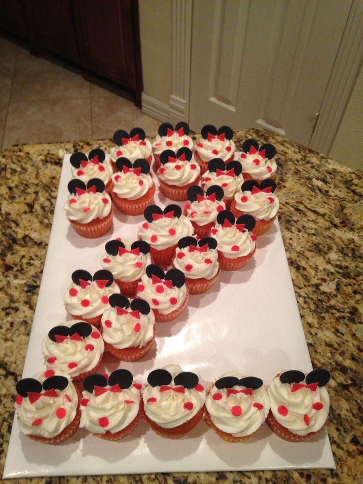Nice Mickey Mouse Cupcakes