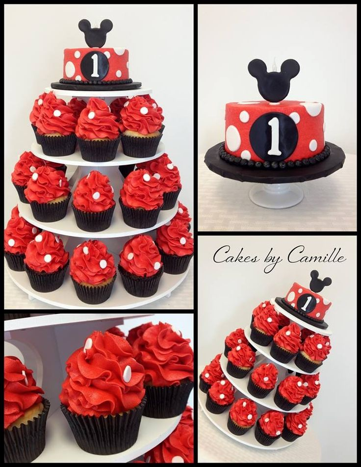 Ideas About Mickey Mouse Cupcakes