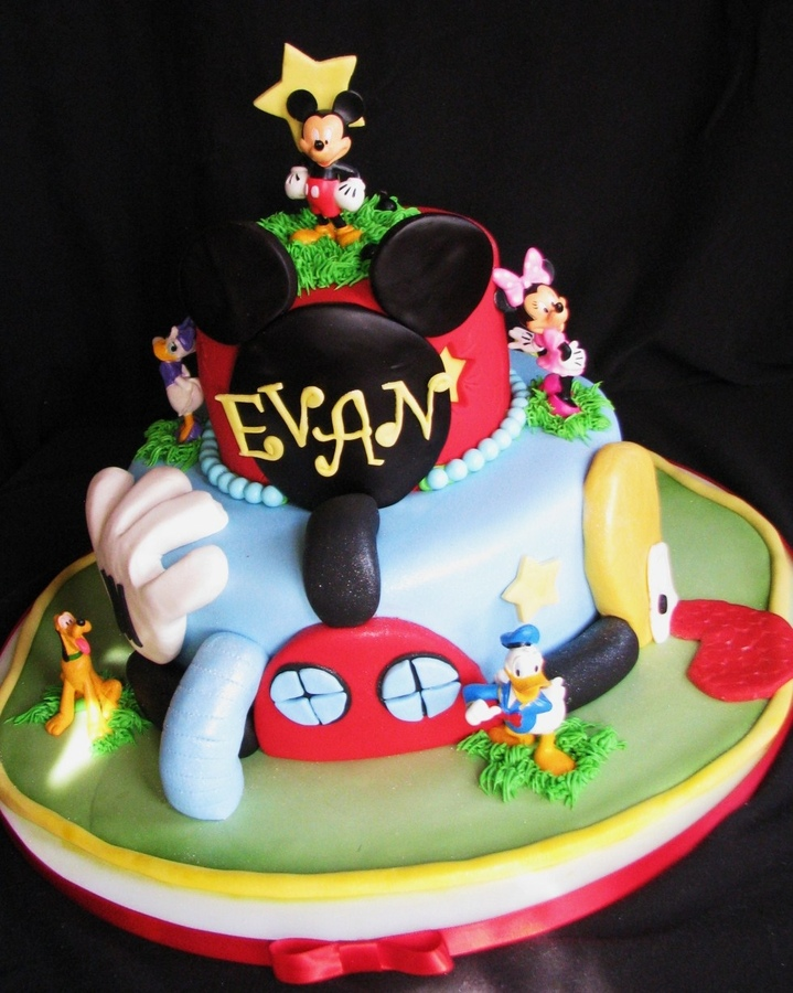 1000+ Images About Cake Mickey Mouse On Pinterest