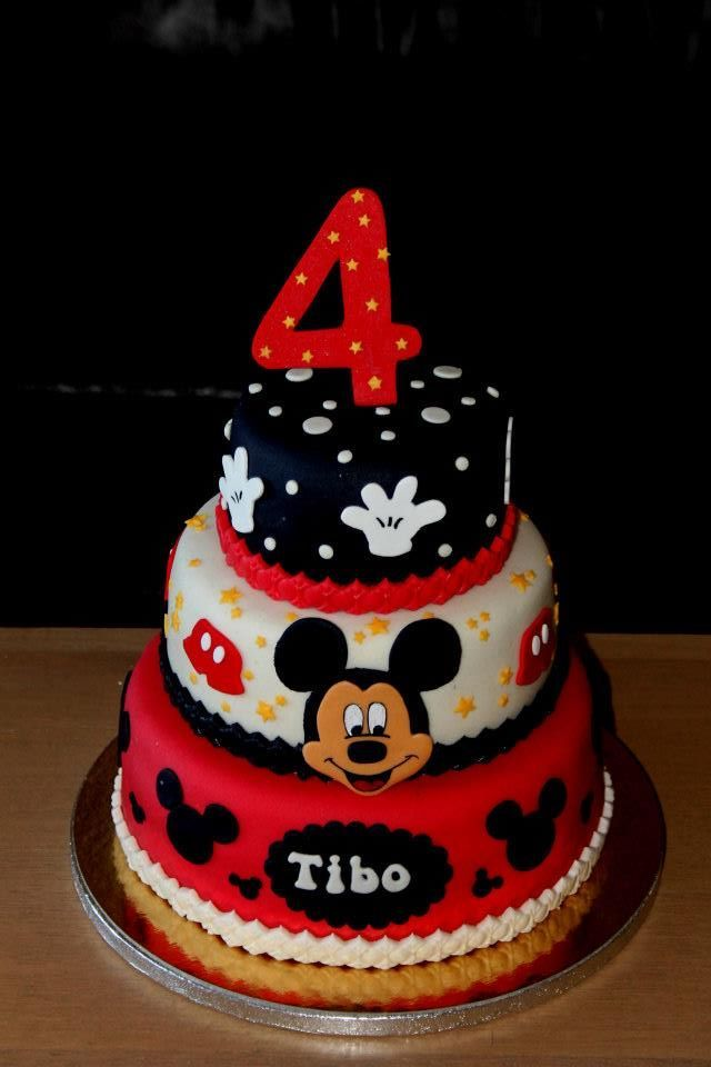 1000+ Images About Cakes  Mickey Mouse On Pinterest