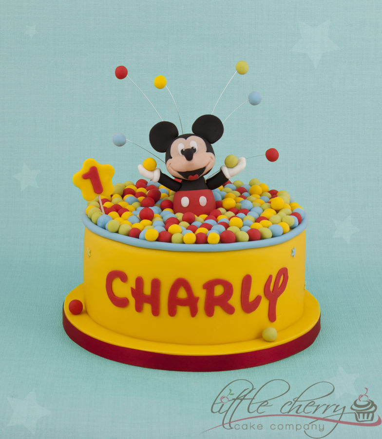 1000+ Images About Mickey Mouse Cakes And More On Pinterest