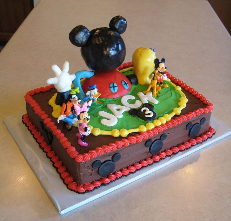 1000+ Images About Mickey Mouse Clubhouse Cakes On Pinterest