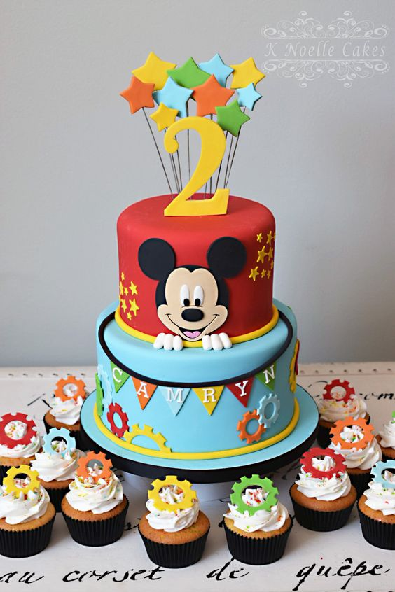 Mickey Mouse Clubhouse Theme Cake
