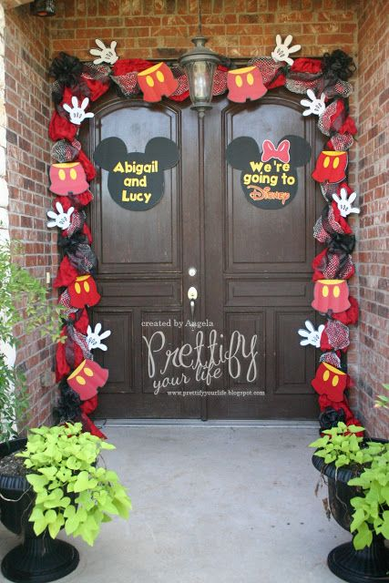 Mickey Mouse Doorscape