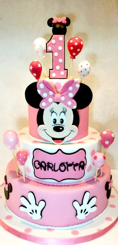 Minnie Mouse Cak