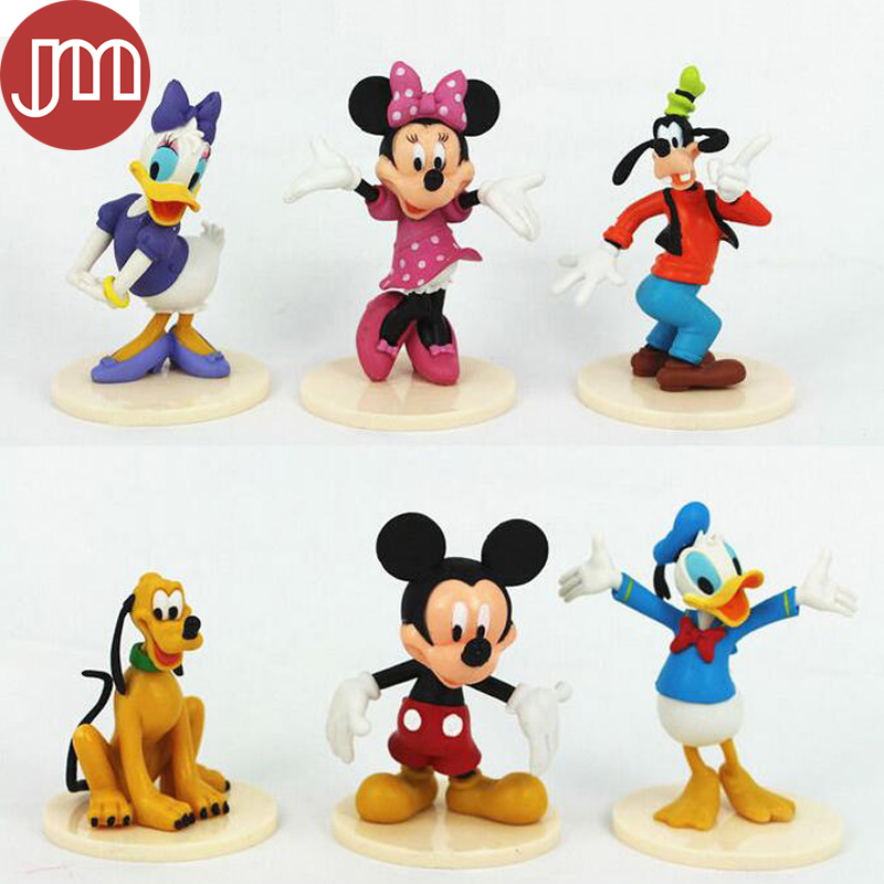 Aliexpress Com   Buy New 6pcs Mickey Mouse Clubhouse Minnie Goofy