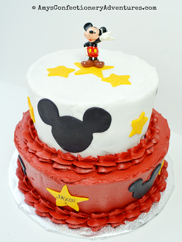 Amy's Confectionery Adventures  Mickey Mouse Cake