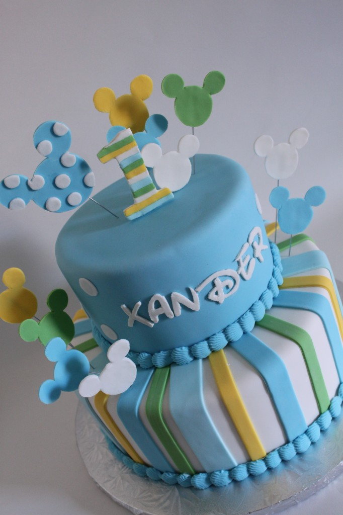 1st Birthday Cake Baby Mickey Image Inspiration of Cake and