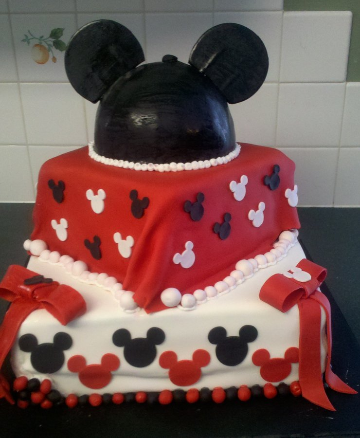 Baby Shower Cakes  Baby Shower Cakes Mickey Mouse