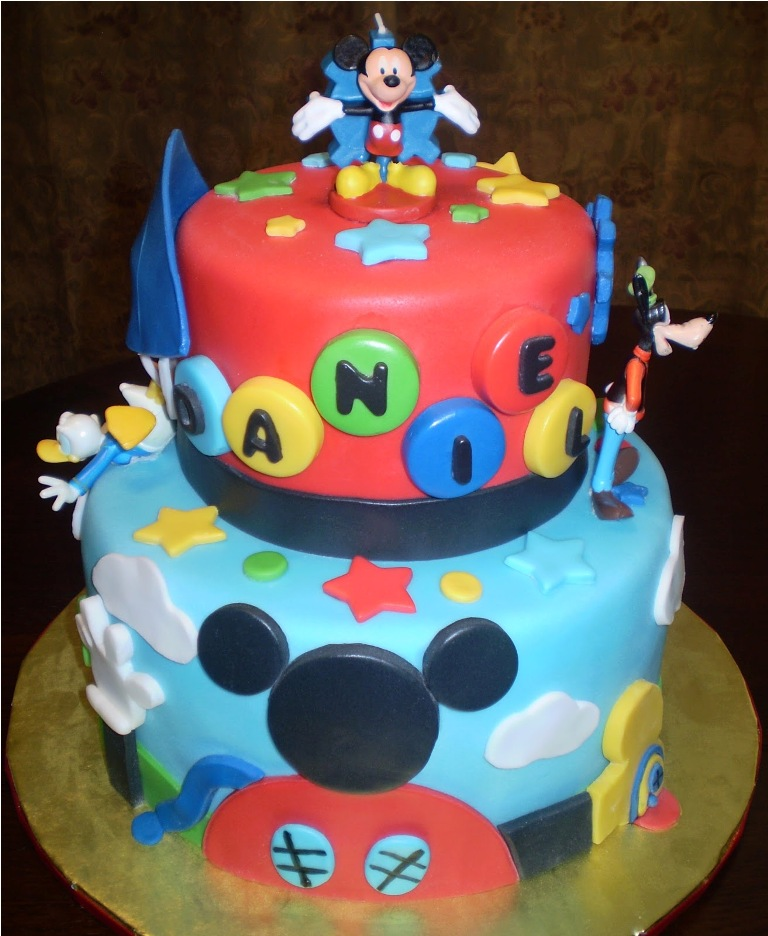 Best Mickey Mouse Cake Topper — Birthday Cake   Awesome Mickey