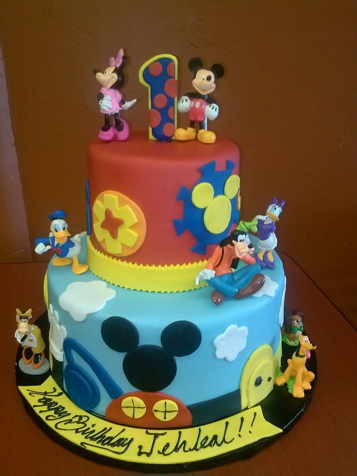 Minnie And Mickey Mouse Cakes - Mickey Mouse Invitations Templates