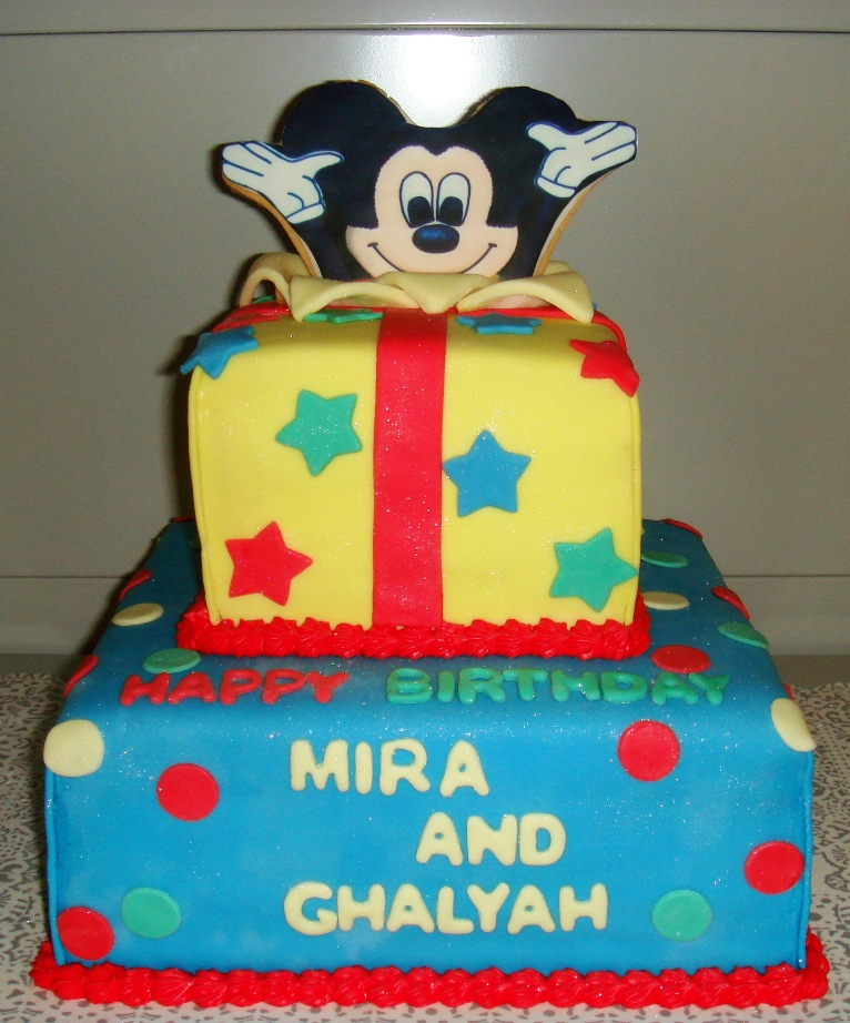 Cake Mickey Mouse Cake Decorations Large Mickey Mouse Theme Party