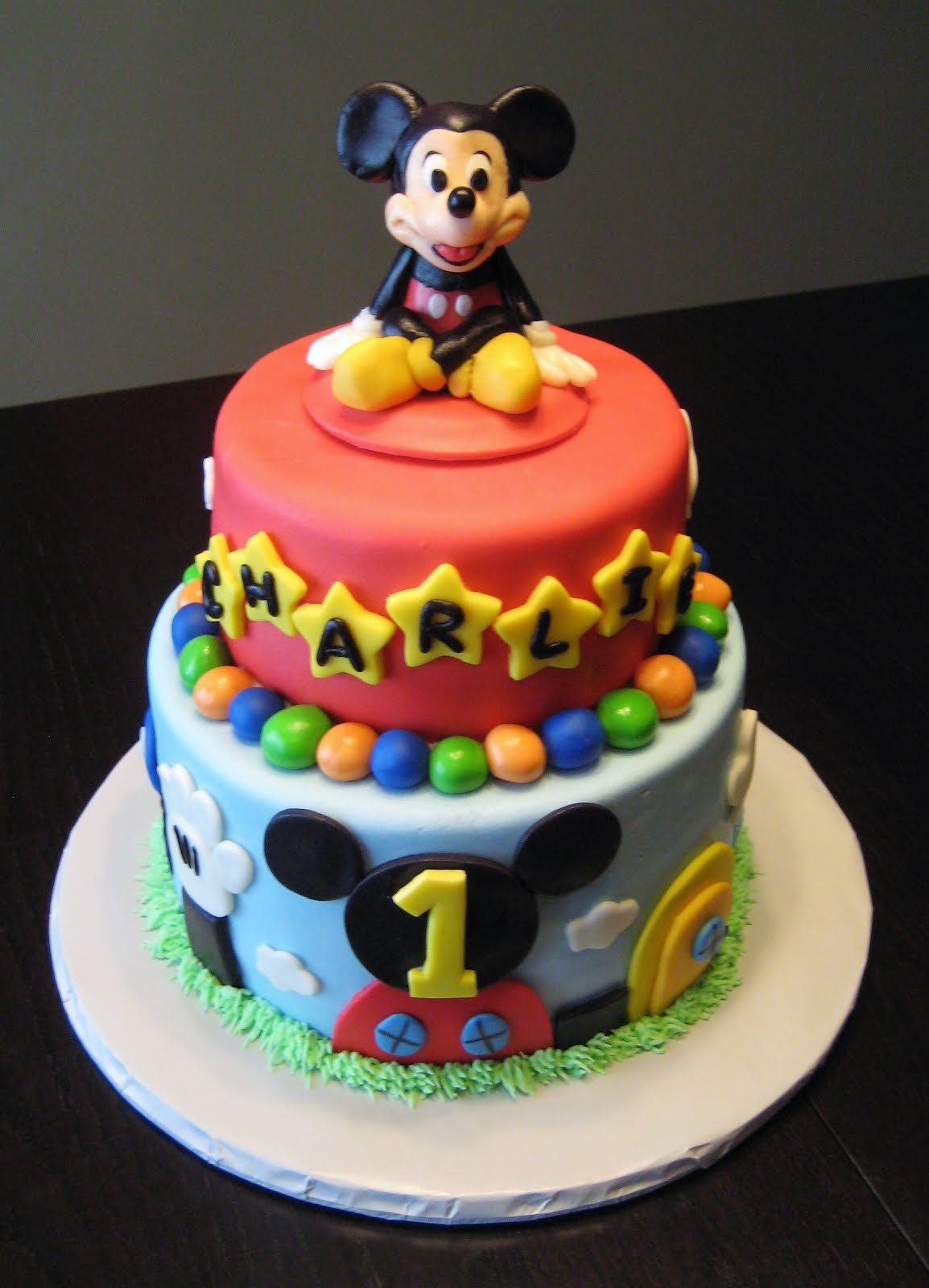 Edible Mickey Mouse Fondant