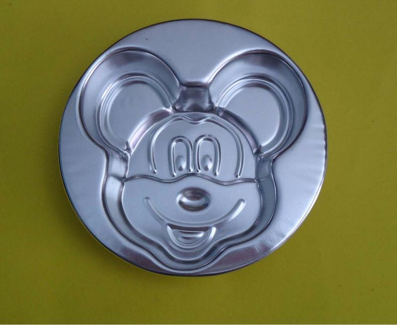 Free Shipping New 5 Pcs Lot Mickey Mouse Diy Cake Pans Cake Tin