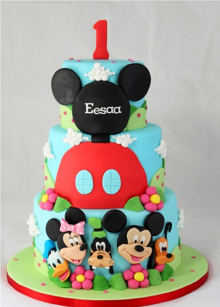 How To Make Mickey Mouse Birthday Cake Ideas — Birthday Cake