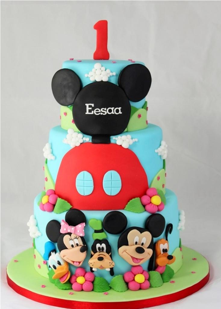 How To Make Mickey Mouse Birthday Cake Ideas — Birthday Cake
