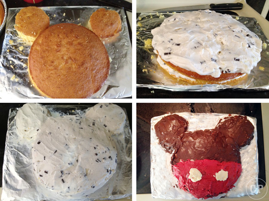 In The Kitchen  A Mickey Mouse Cake Fit For Any Age