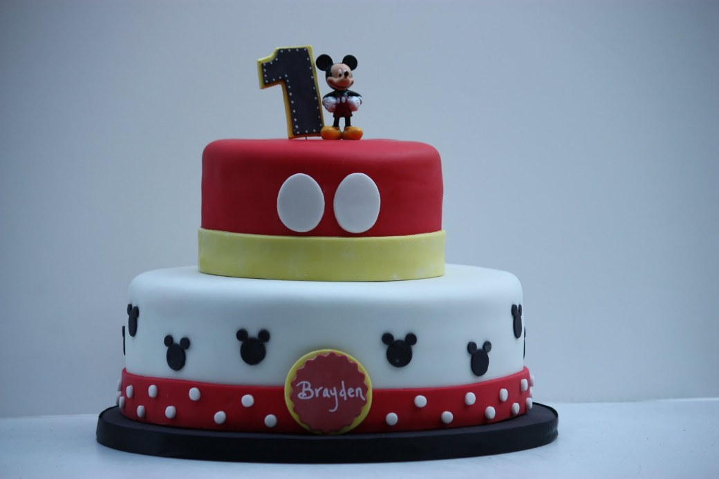 Mickey Mouse 2nd Birthday Cakes