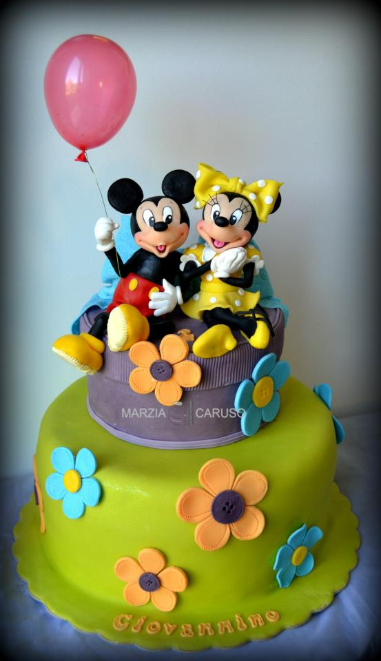 Mickey Mouse & Friends  Cake  Cupcakes