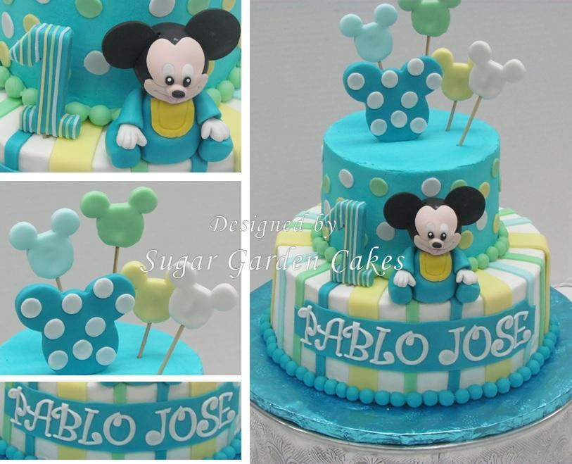 Mickey Mouse Baby Cake Ideas 42661