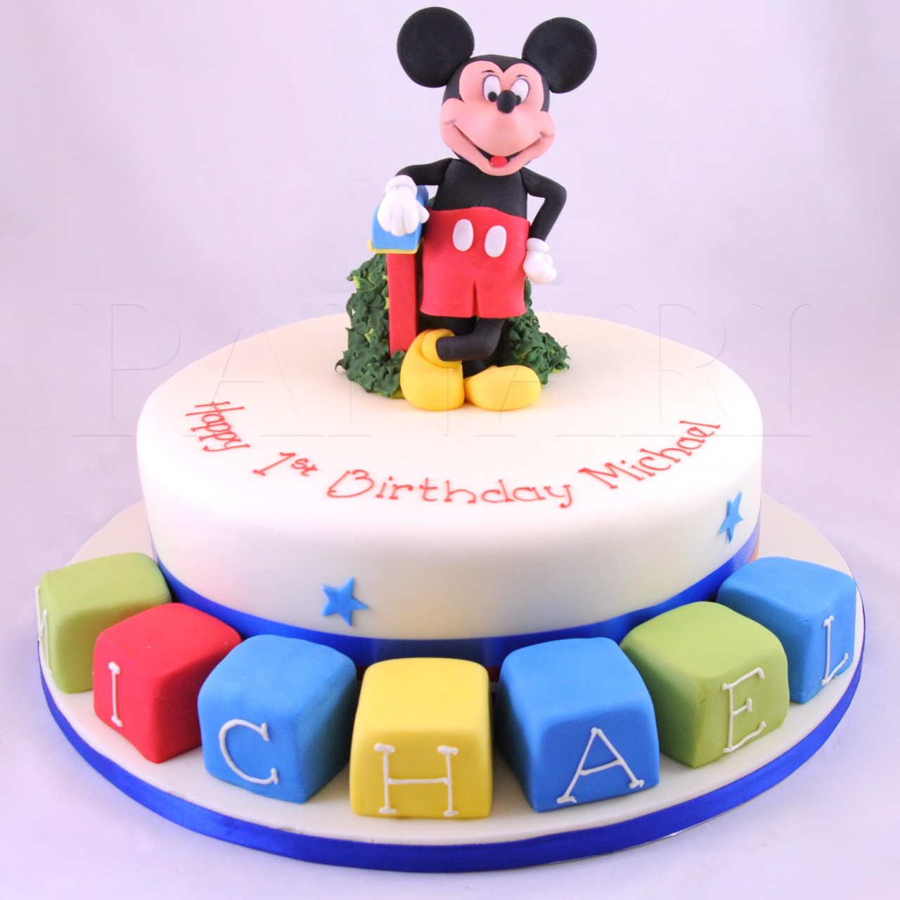 Mickey Mouse Cake Decorations   Decorated Cakes For Birthday Cake