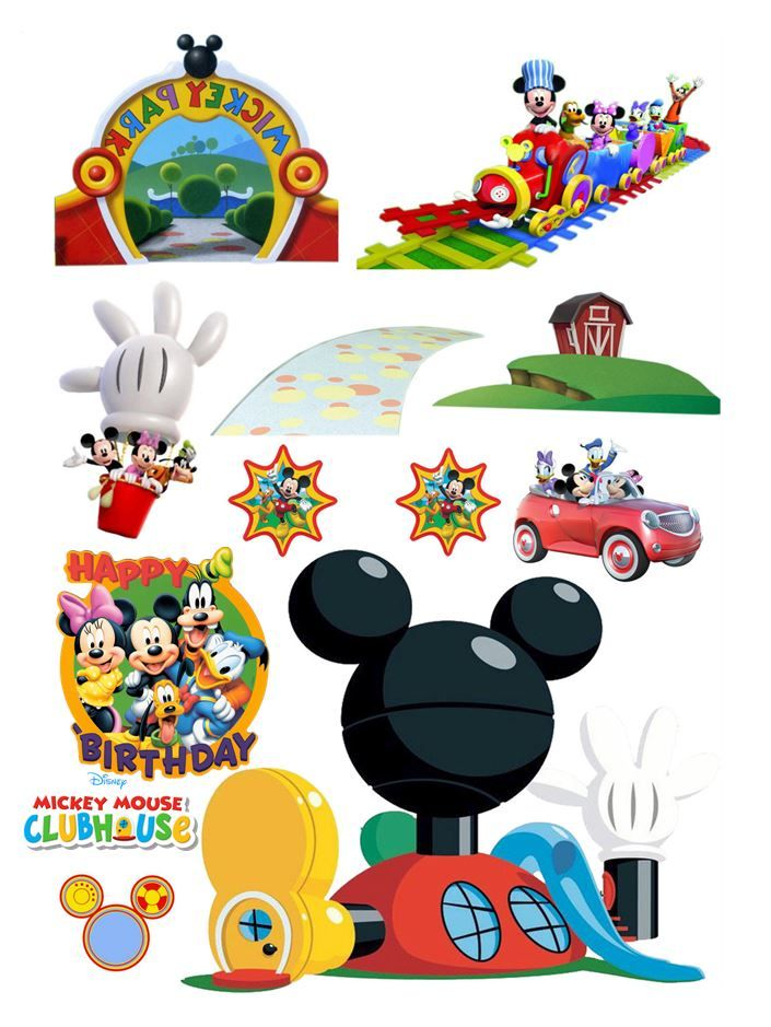 Mickey Mouse Clubhouse Cake Decorations Uk