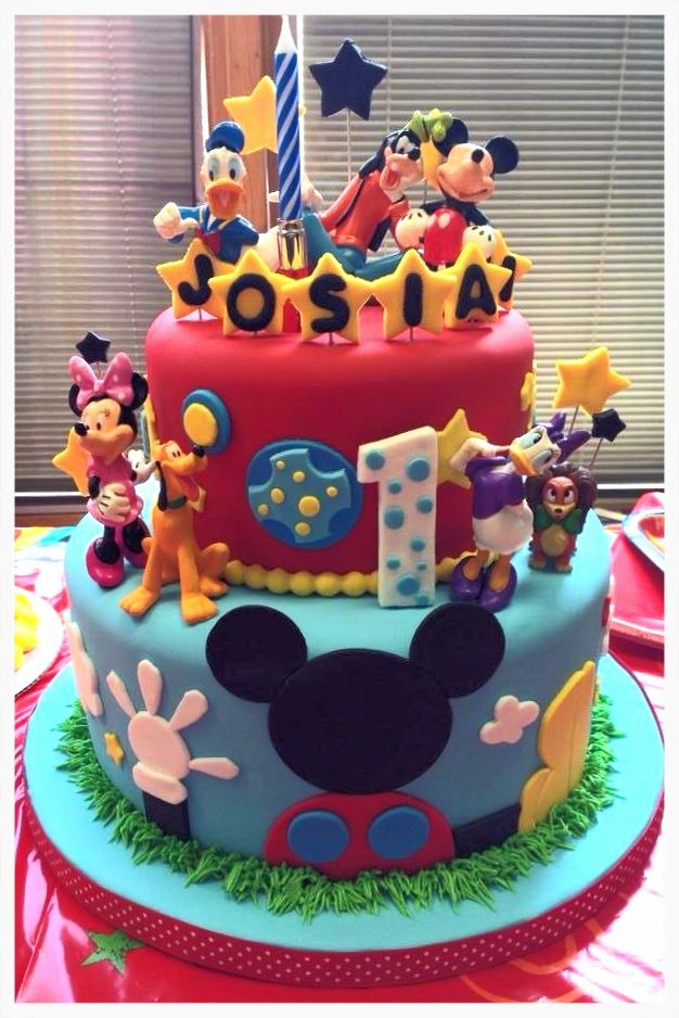 Mickey Mouse Clubhouse Cake, Mickey Mouse Clubhouse And Clubhouses