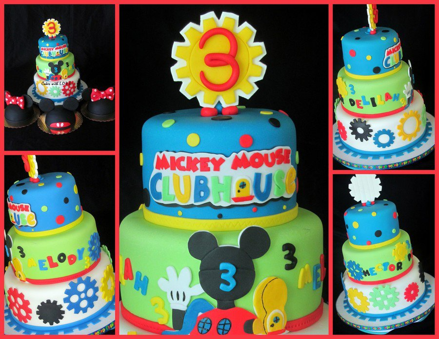 Mickey Mouse Clubhouse Cake With Smashs