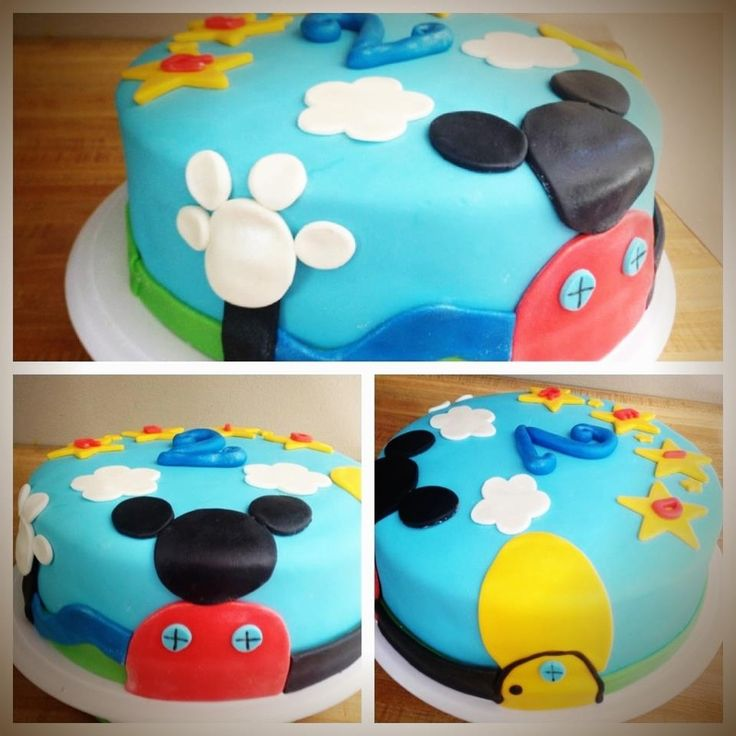 Mickey Mouse Clubhouse, Mickey Mouse Clubhouse Cake And Clubhouses