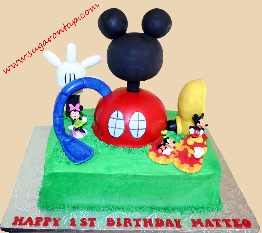 Mickey Mouse Sheet Cakes