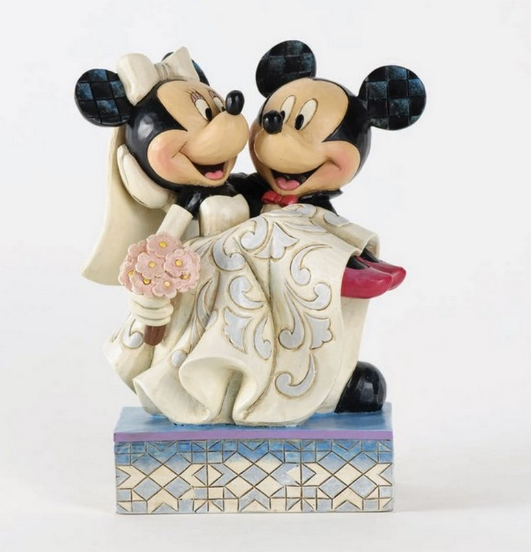 Minnie And Mickey Cake Toppers For Weddings