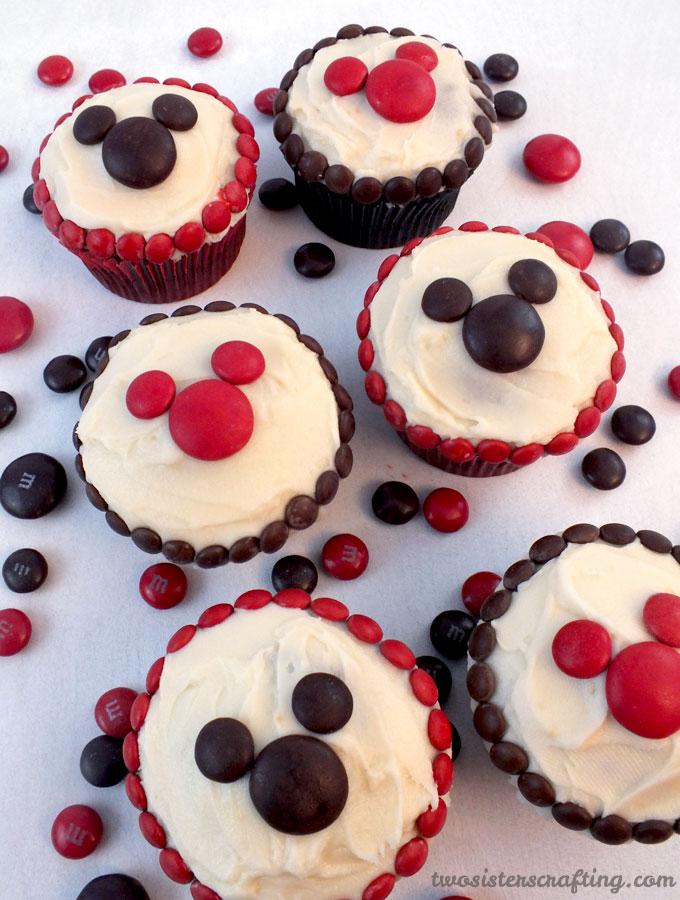 Mm Mickey Cupcakes