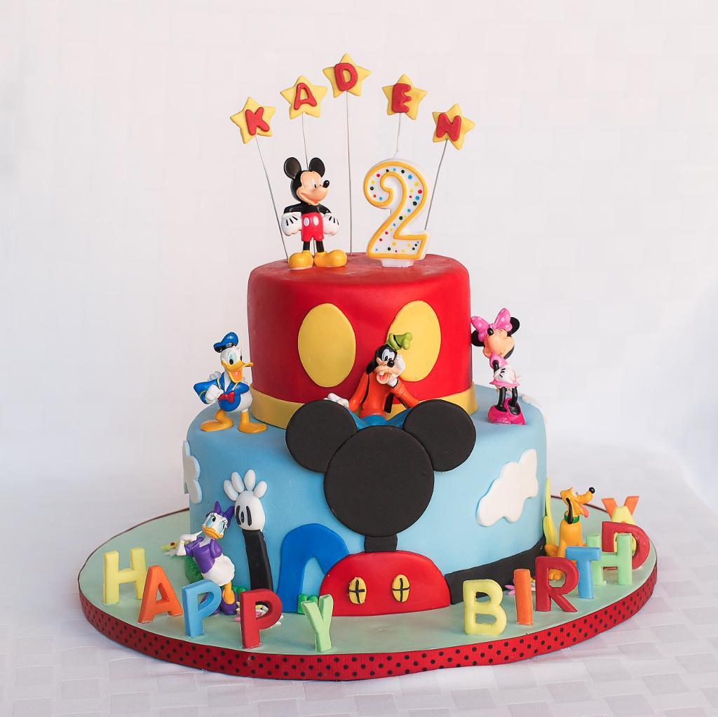New Mickey Mouse Cake Decoration