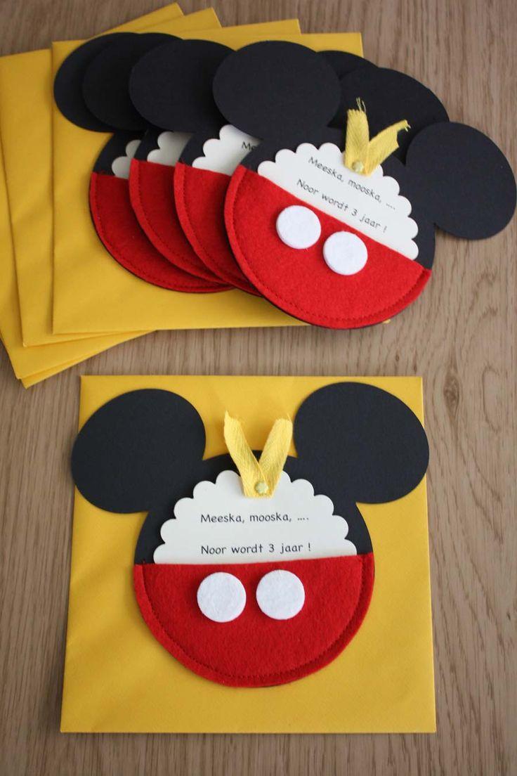 1000+ Ideas About Mickey Invitations On Pinterest