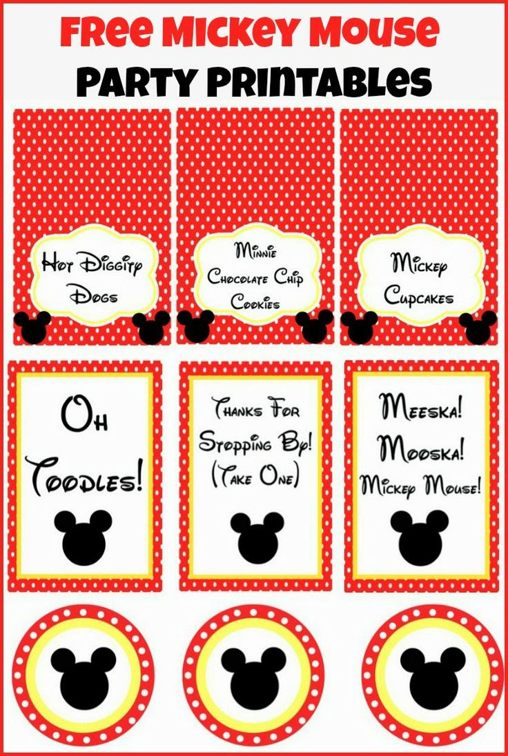 1000+ Images About Corbin's Halloween Mickey Mouse Birthday Party