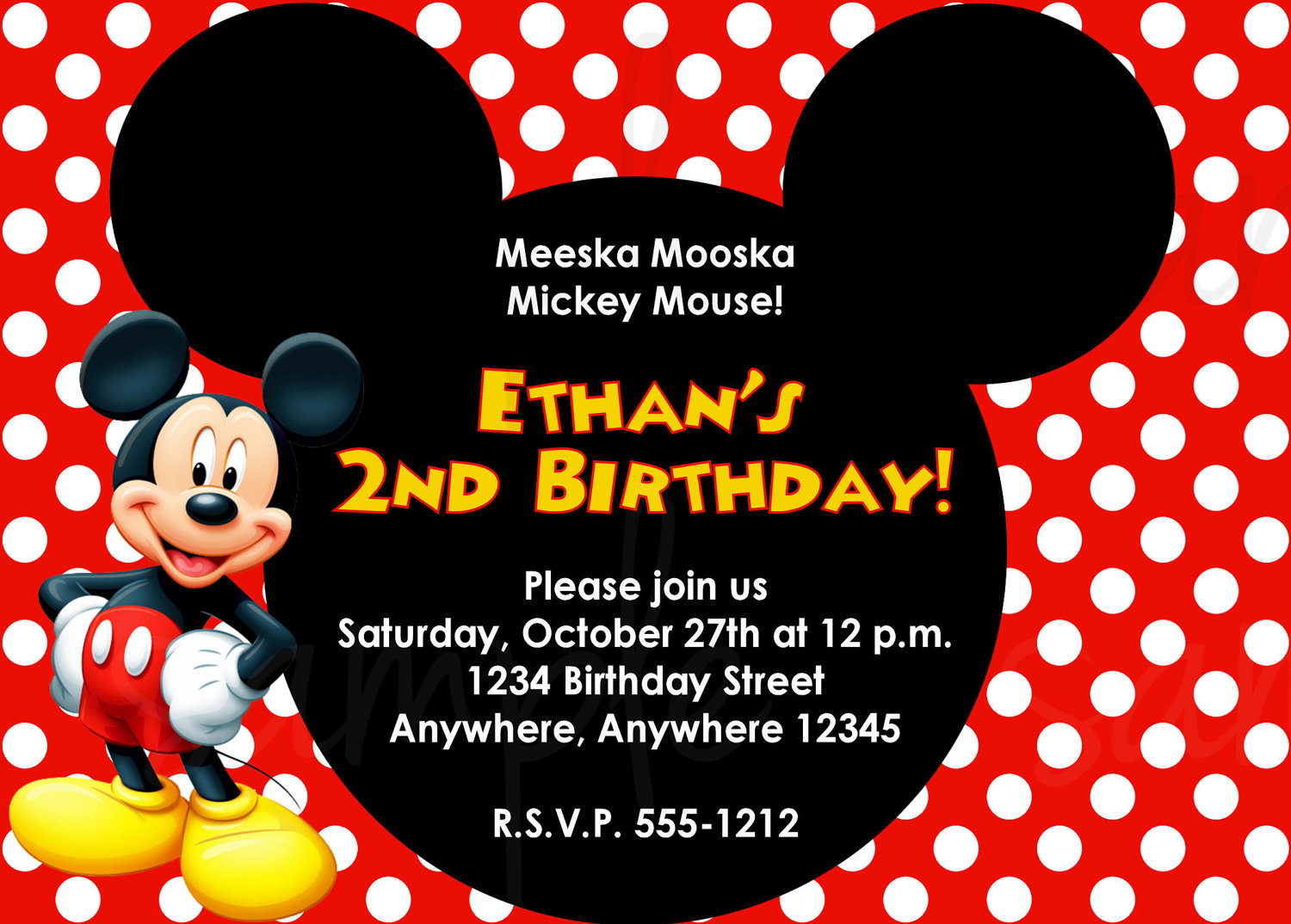 1000+ Images About Mickey Mouse Bday On Pinterest