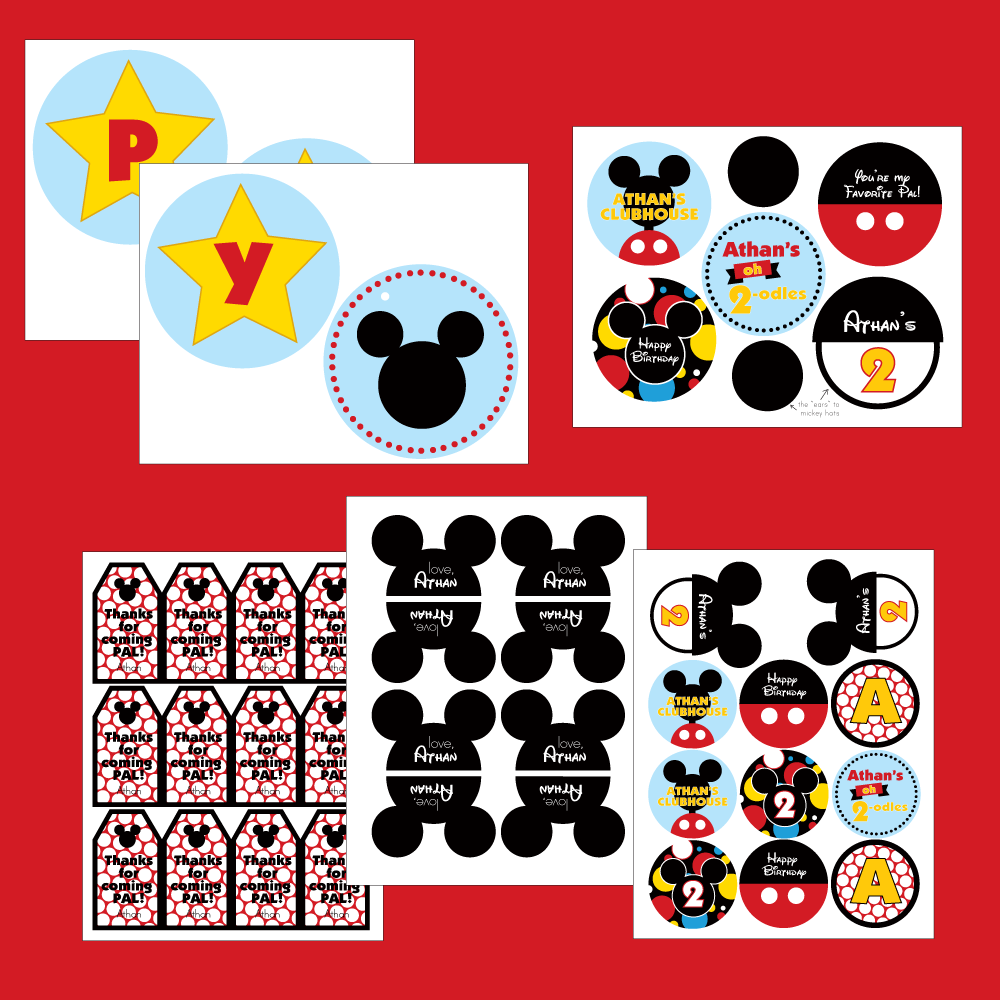 5 Best Images Of Mickey Mouse Birthday Printables Free