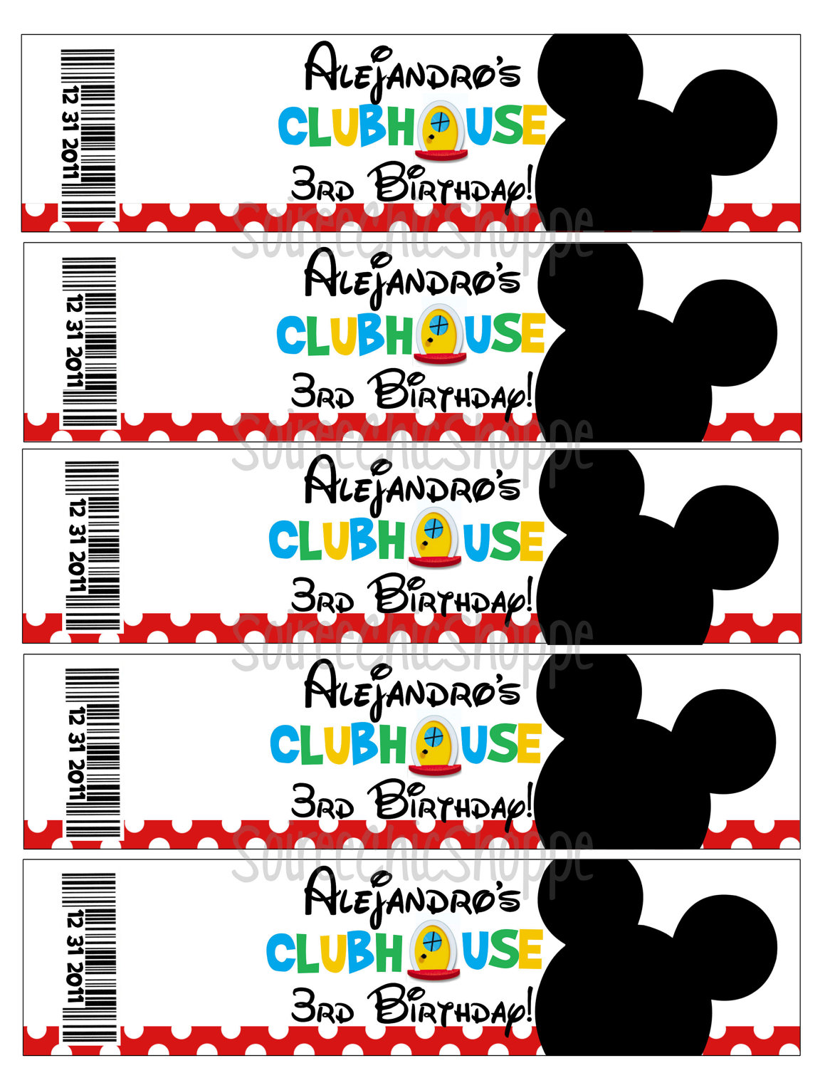 7 Best Images Of Mickey Mouse Clubhouse Free Printables