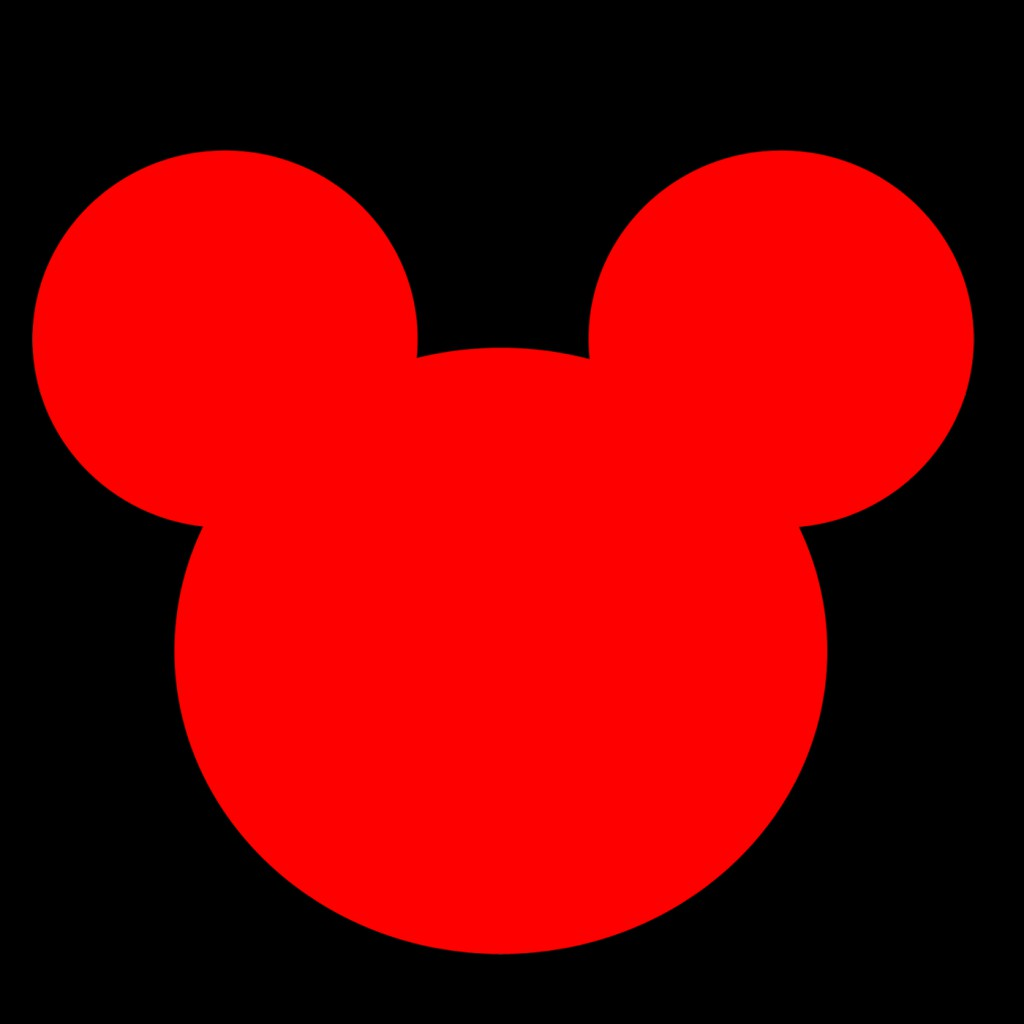 Mickey Mouse Head Template For Invitations - Mickey Mouse ...