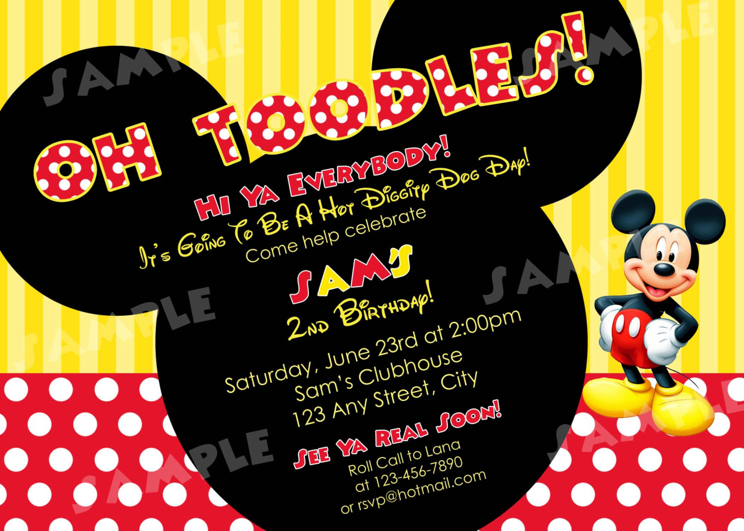 Mickey And Minnie Mouse Birthday Invitations 3 Lovely Minnie And