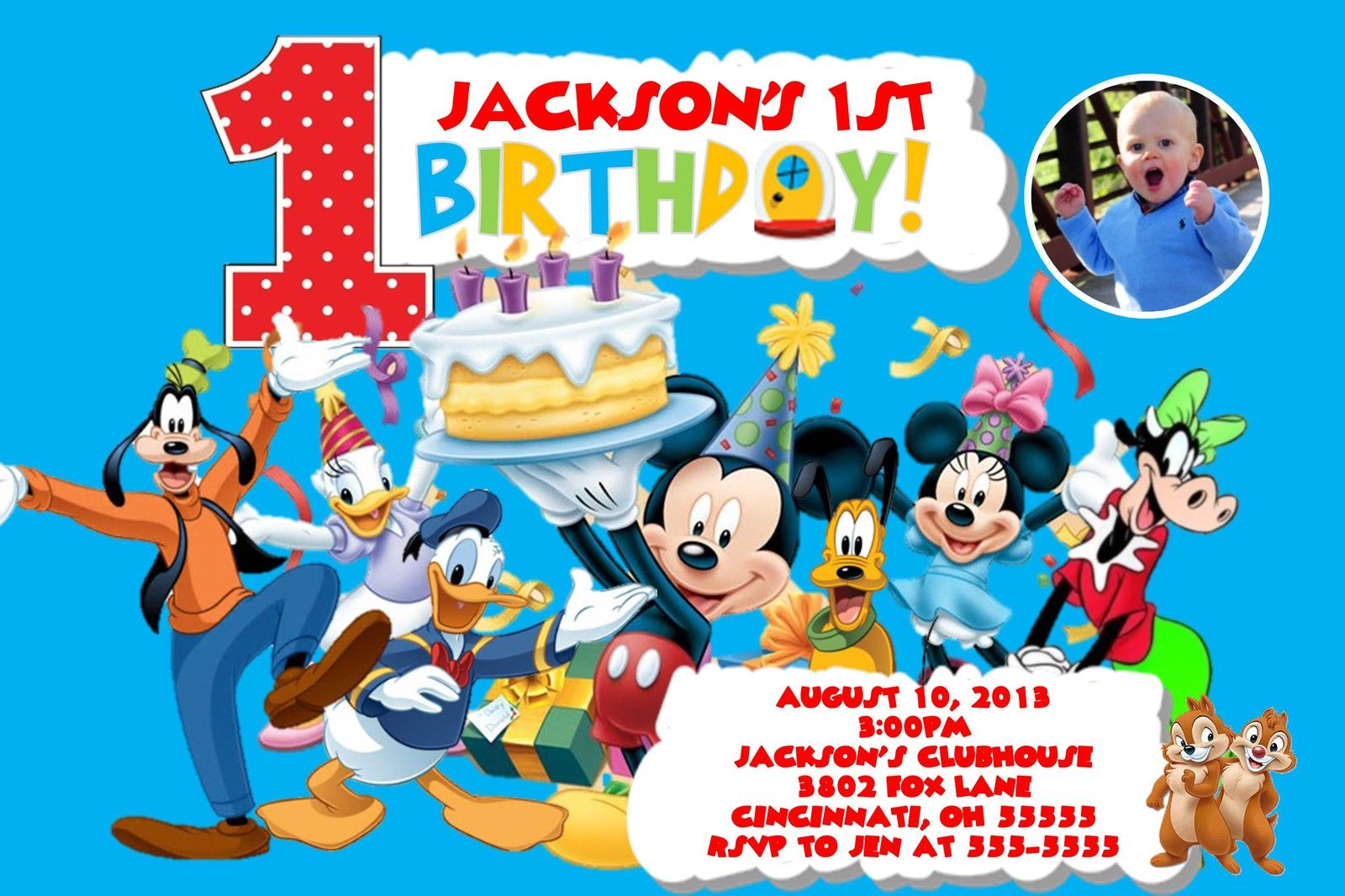 Mickey Mouse 2Nd Birthday Invitations is perfect invitations ideas