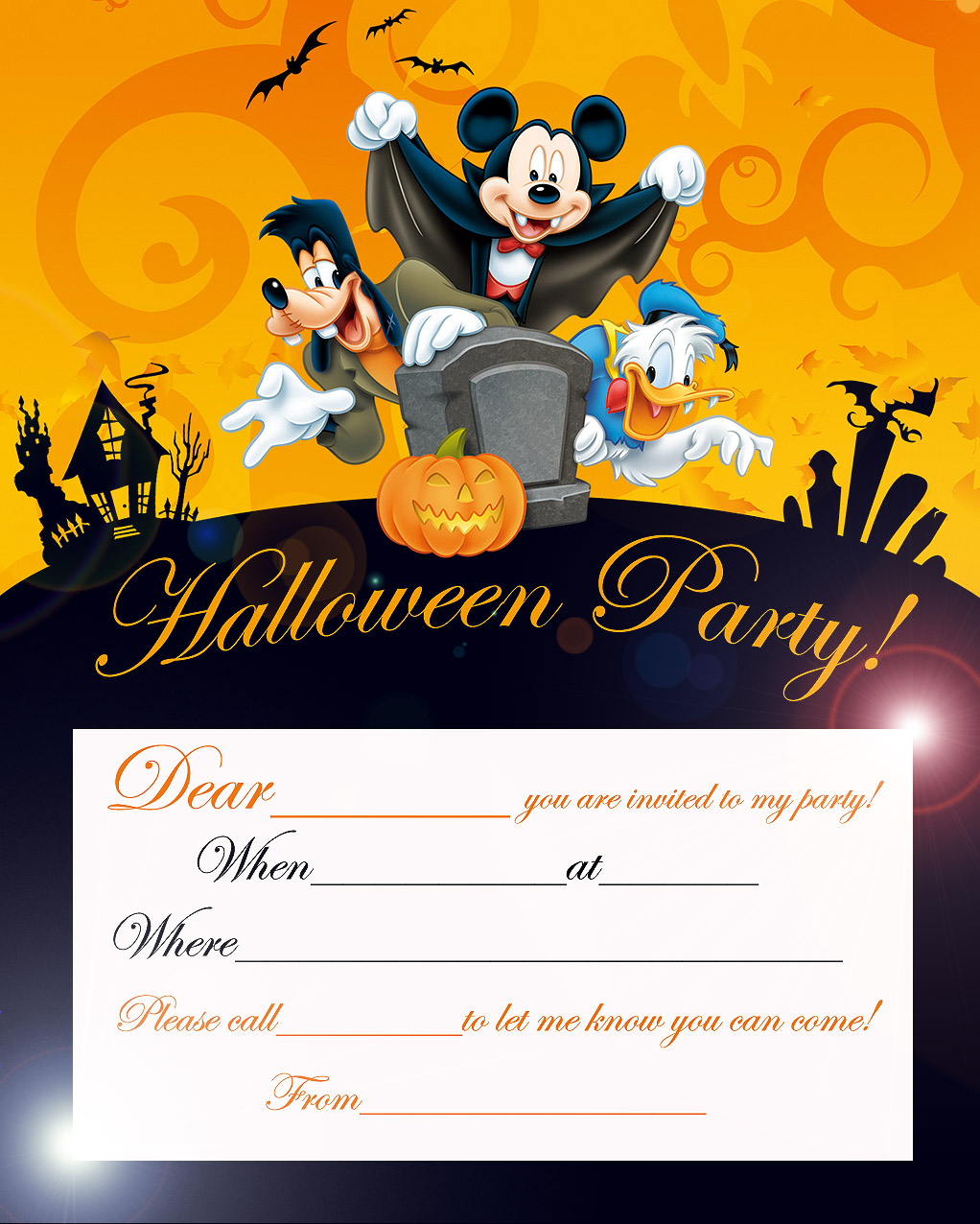 uncategorized mickey mouse invitations templates mickey mouse halloween invitations mickey mouse halloween birthday disney coloring pages