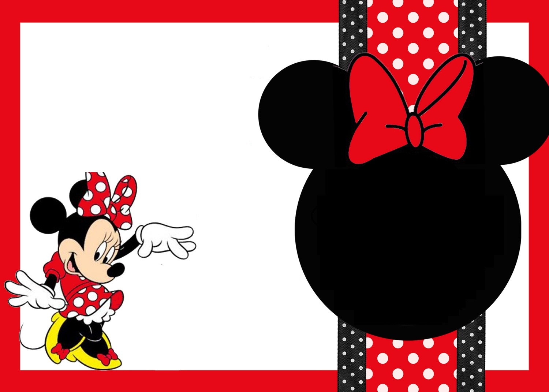 Mickey Mouse Invitation Printable