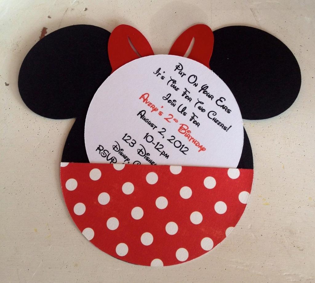 Etsy Mickey Mouse Invitations