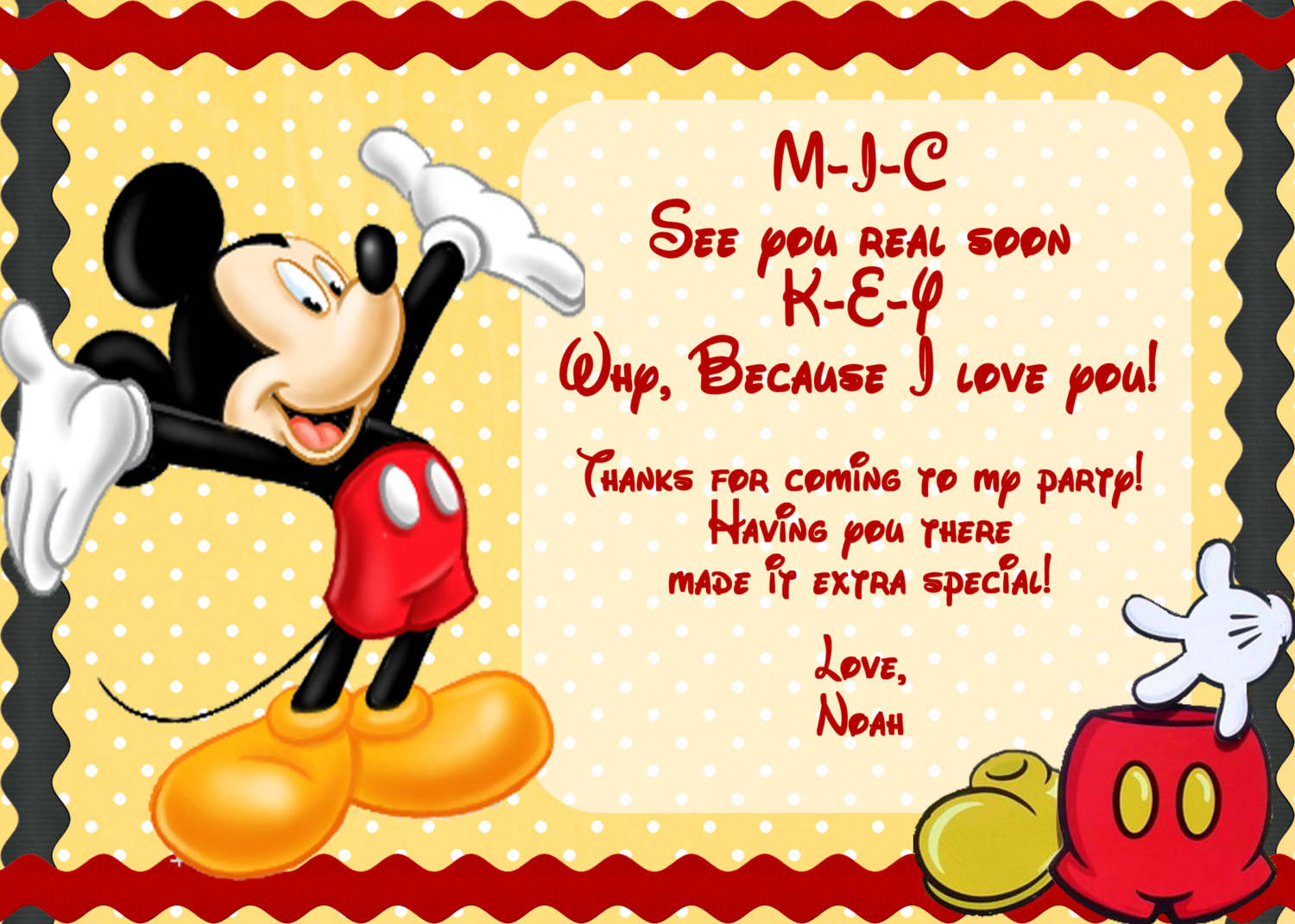 Blog - Page 31 of 46 - Mickey Mouse Invitations Templates